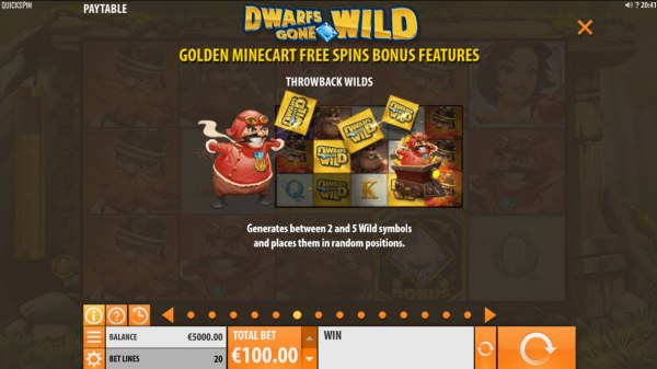 Dwarfs Gone Wild by Casino Codes