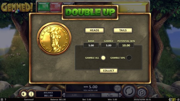 Double Up Feature by Casino Codes