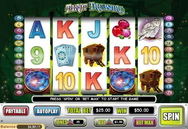 Casino Codes image of Tarot Treasure