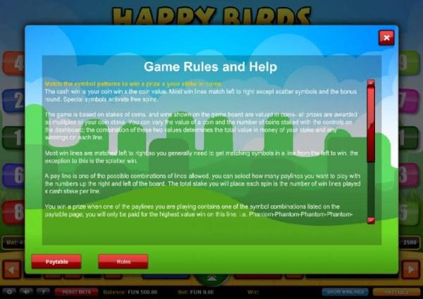 Happy Birds screenshot