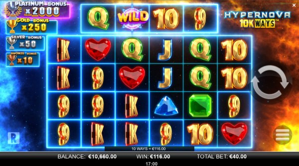 Hypernova 10K Ways by Casino Codes