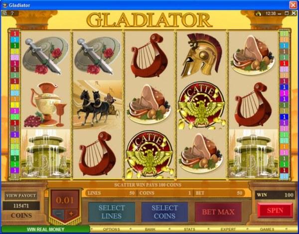 Casino Codes image of Gladiator