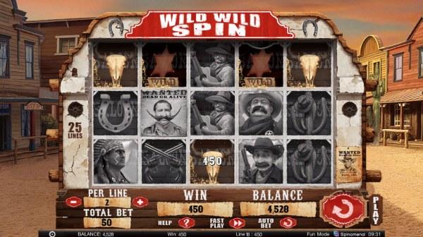 Wild Wild Spin by Casino Codes