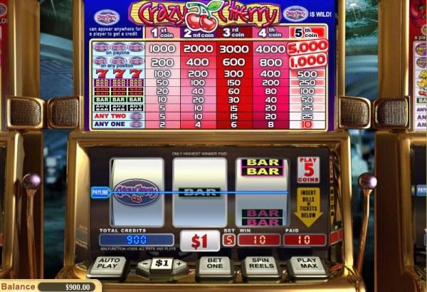 Casino Codes image of Crazy Cherry
