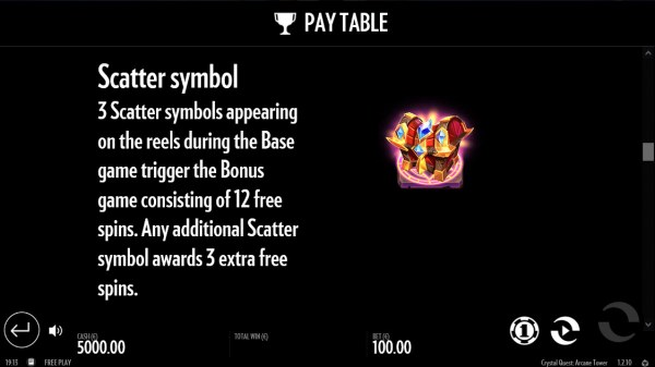 Casino Codes image of Crystal Quest Arcane Tower