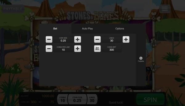 Stones & Bones by Casino Codes