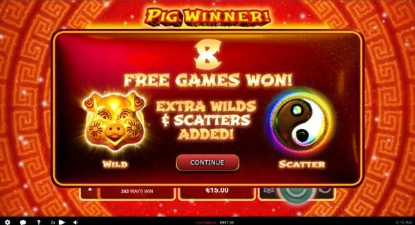 Casino Codes image of Pig Winner