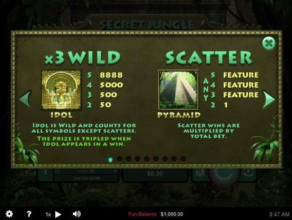 Secret Jungle screenshot
