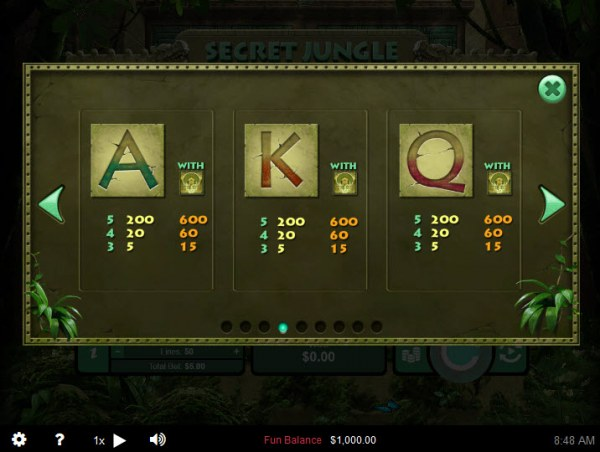 Secret Jungle by Casino Codes
