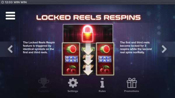 Casino Codes - Locked Reels Respins