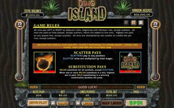 Dino Island screenshot