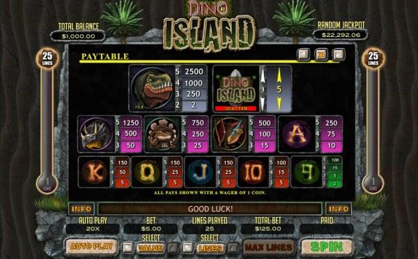 Dino Island by Casino Codes