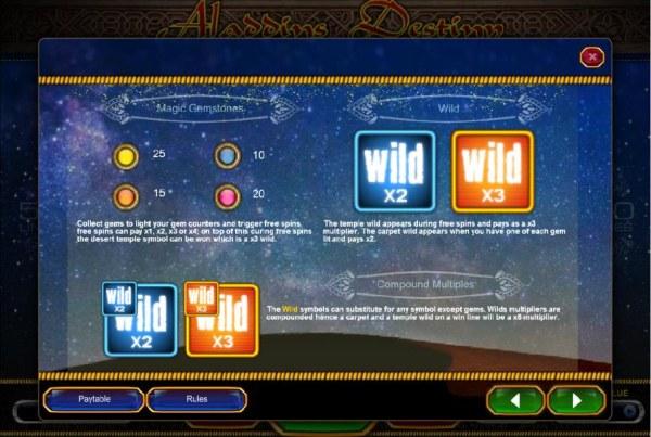 Aladdin's Destiny screenshot