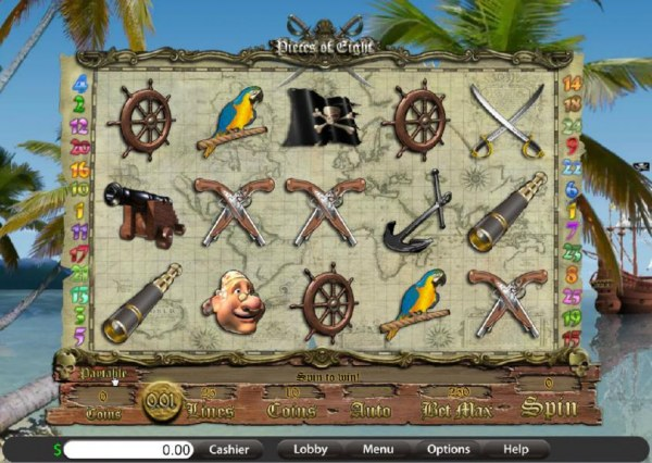 Pieces of Eight screenshot