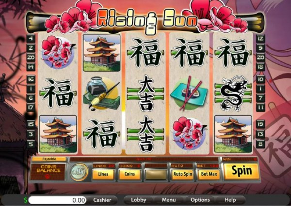 Casino Codes image of Rising Sun