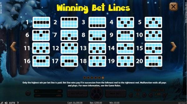Casino Codes image of Wolf Cub