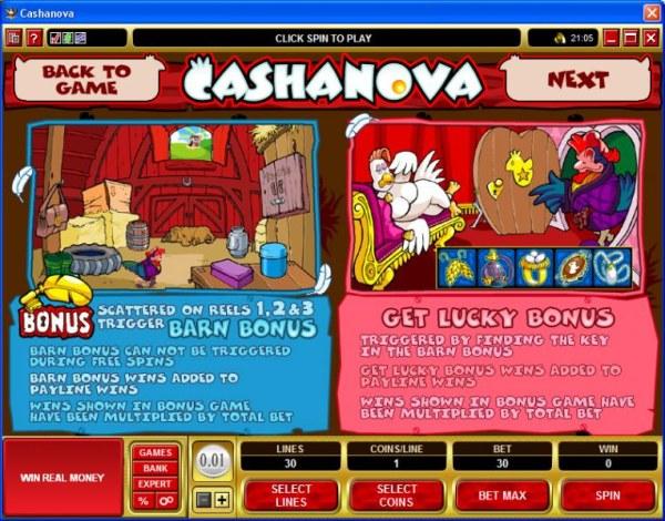 Cashanova by Casino Codes