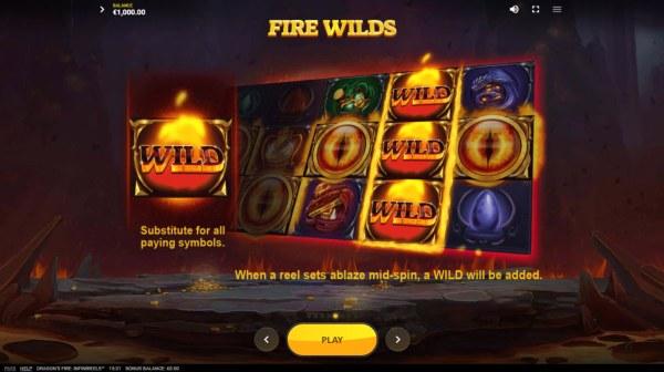 Dragon's Fire Infinireels screenshot