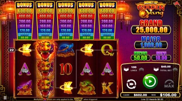 Casino Codes image of Golden Yang
