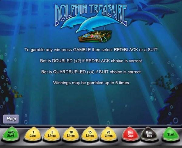 Dolphin Treasure by Casino Codes
