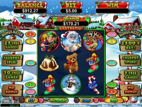 Casino Codes image of Santastic