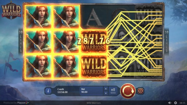 Wild Warriors by Casino Codes