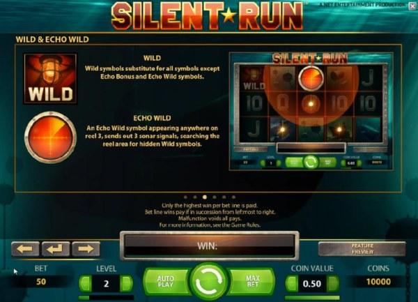 Casino Codes - wild and echo wild rules