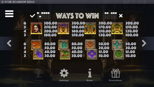 Ecuador Gold screenshot