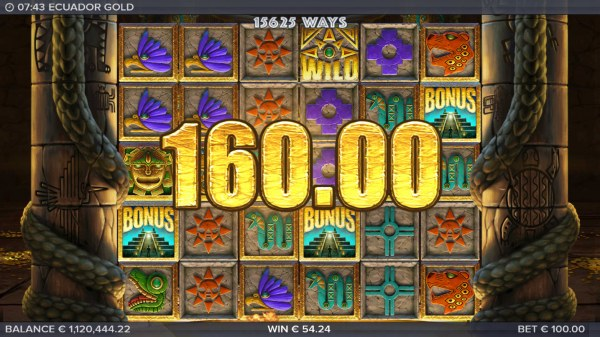 Scatter win triggers the free spins feature - Casino Codes