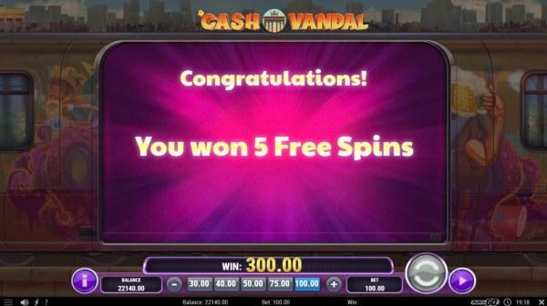 Casino Codes image of Cash Vandal