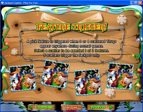 Casino Codes image of Return of the Rudolph