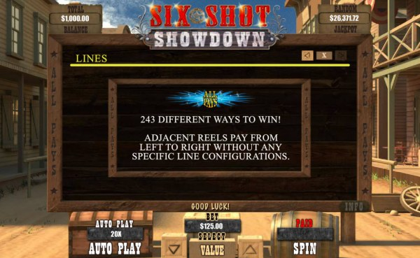 243 Ways to Win by Casino Codes