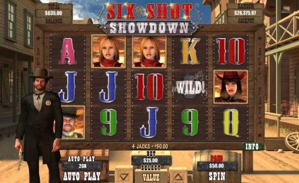 Six Shot Showdown screenshot