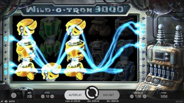 Wild-O-Tron 3000 by Casino Codes
