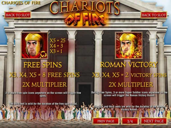 Chariots of Fire screenshot
