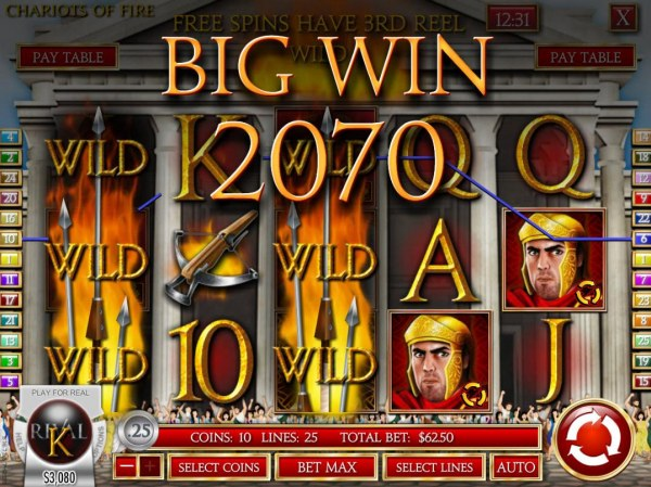 Casino Codes image of Chariots of Fire